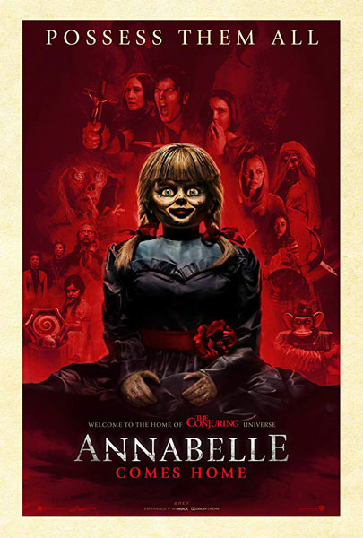 Annabelle Comes Home (2D)