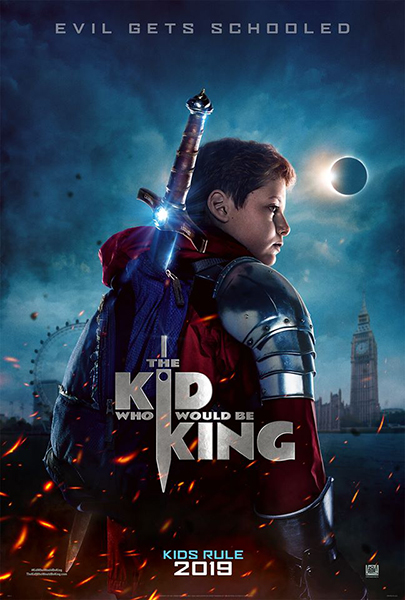 The Kid Who Would Be King (2D)